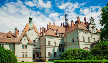 тур замок Шенборна