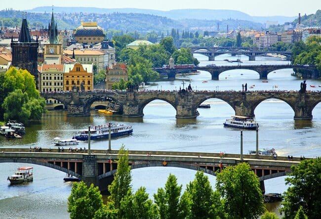 В направлении Европы - новые города