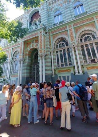 экскурсия по Одессе
